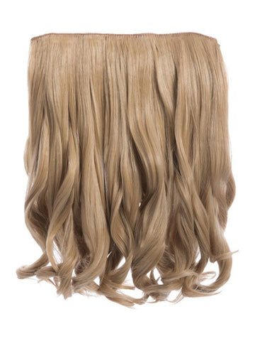 Rosie 1 Weft 16″ Curly Hair Extensions In Caramel Blonde