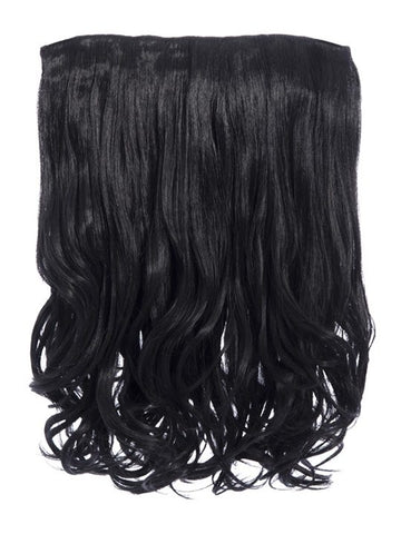 Rosie 1 Weft 16″ Curly Hair Extensions In Natural Black - Pretty Rebel