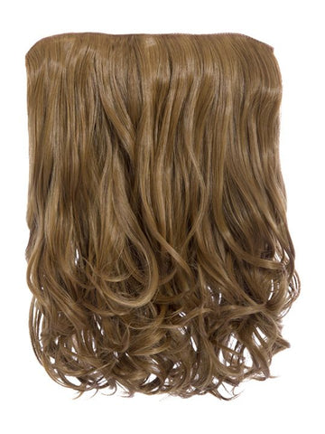 Rosie 1 Weft 16″ Curly Hair Extensions In Mixed Auburn