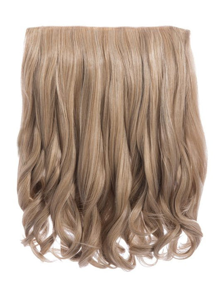 Rosie 1 Weft 16″ Curly Hair Extensions In Honey Blonde - Pretty Rebel