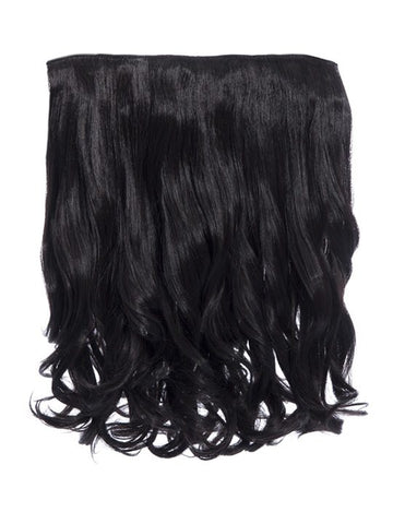 Rosie 1 Weft 16″ Curly Hair Extensions In Raven