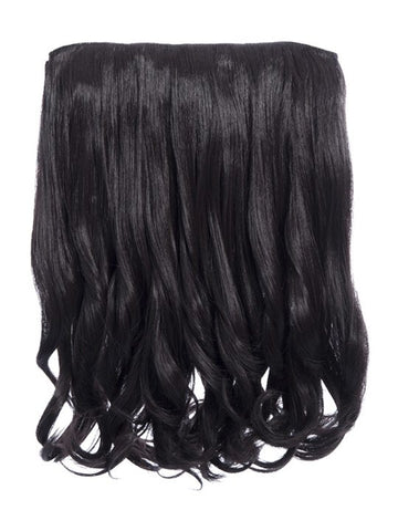 Rosie 1 Weft 16″ Curly Hair Extensions In Jet Black