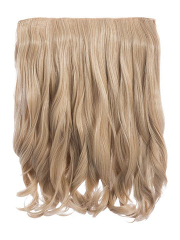 Rosie 1 Weft 16″ Curly Hair Extensions In Golden Blonde