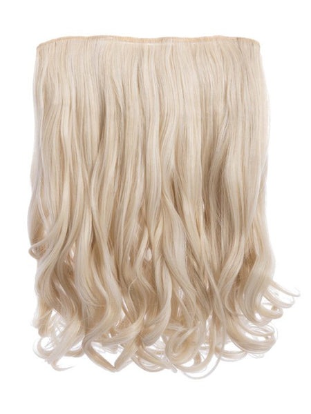 "Rosie 1 Weft 16"" Curly Hair Extensions In Light Blonde"