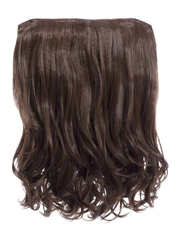 Rosie 1 Weft 16″ Curly Hair Extensions In Chestnut Brown
