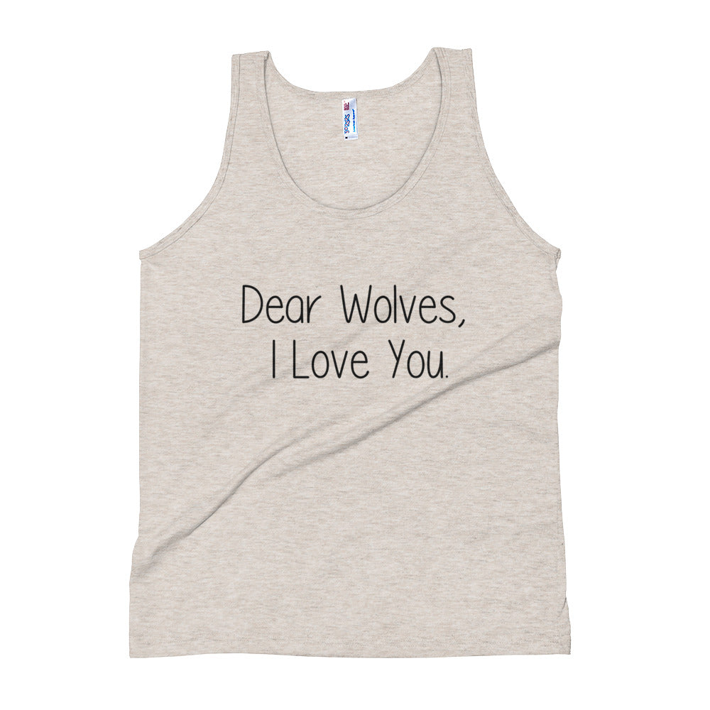 Oatmeal Dear Wolves Tank