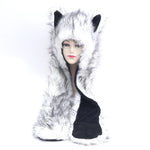 Wolf Hat (Faux Fur)