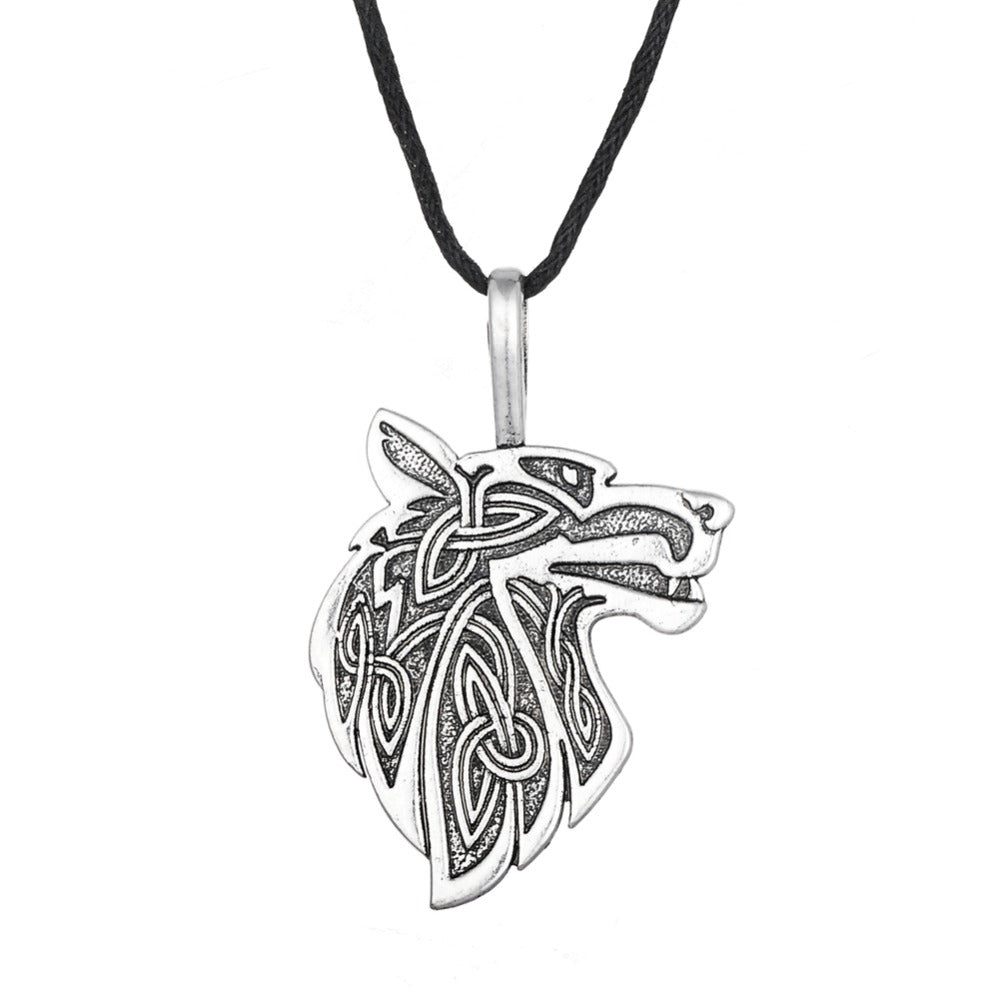 Medieval Wolf Necklace