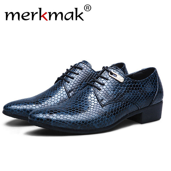 Casual Split Leather Men's Shoes