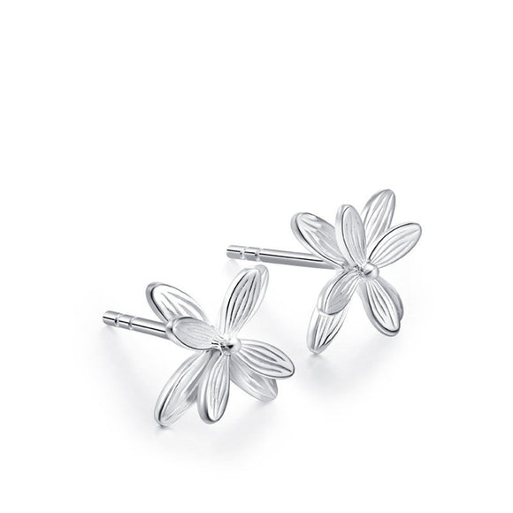 Pure And Fresh Flowers -  Stud Earrings