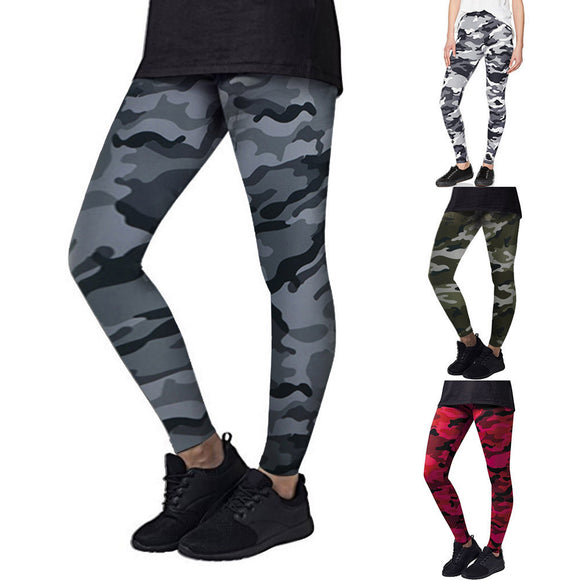 Women's Yoga Workout Gym Leggings