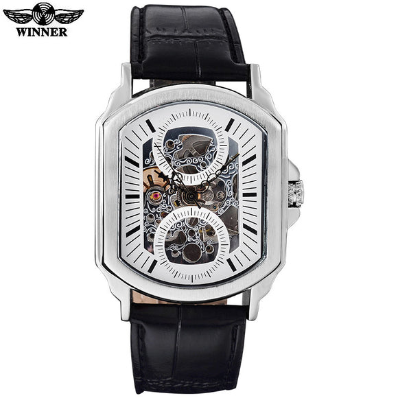 Auto Self Wind Skeleton Watch