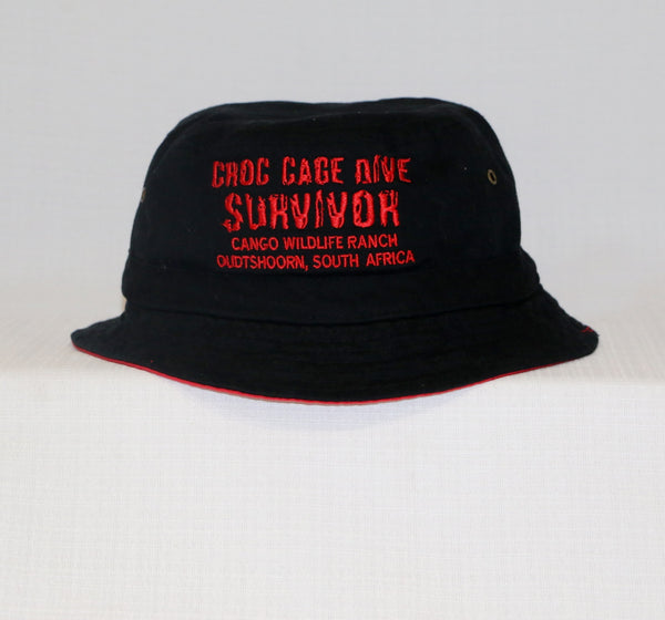 Croc Cage Dive Surviver - Bucket Hat
