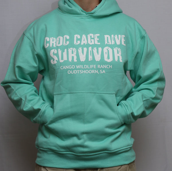 Croc Cage Dive Survivor Hoodie - Adults