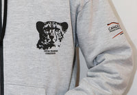 Cheetah Preservation Foundation Hoodie with full front Zip - Adult