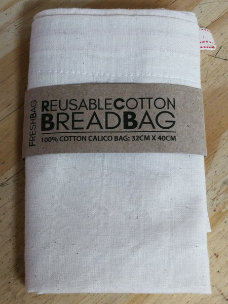 Freshbag:  Reusable Cotton Breadbag