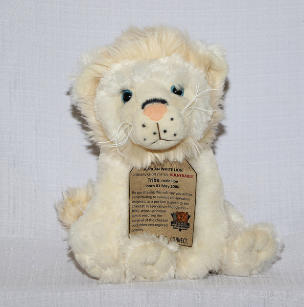 African White Lion:  My name is Tribe