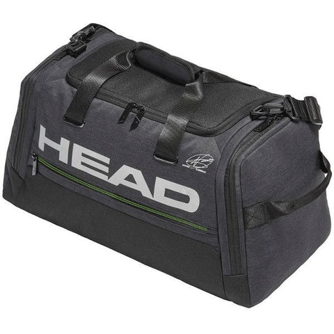 Head Djokovic Duffle Bag Dark Grey⁄Green 2019