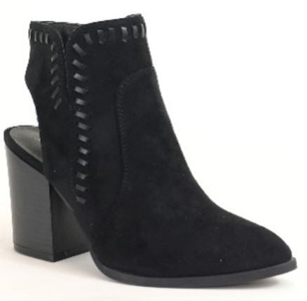 THINK STITCH ANKLE BOOTIE