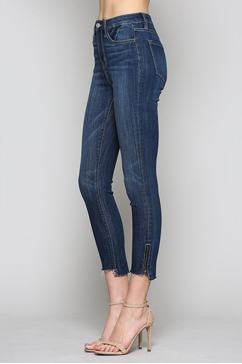 SIDE ZIP DENIM