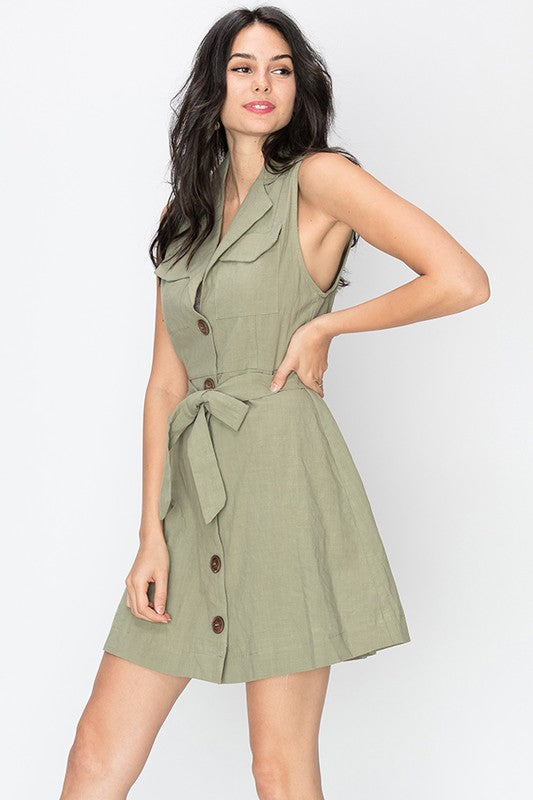 TAKE ME ON SAFARI DRESS