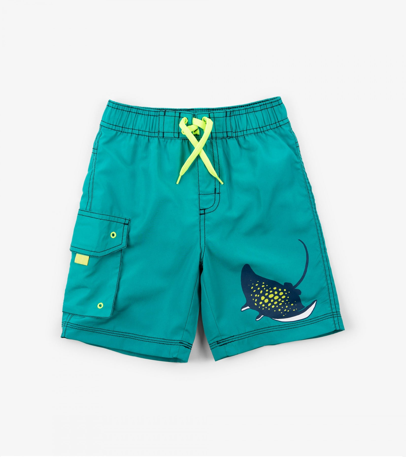 Friendly Manta Rays Board Shorts