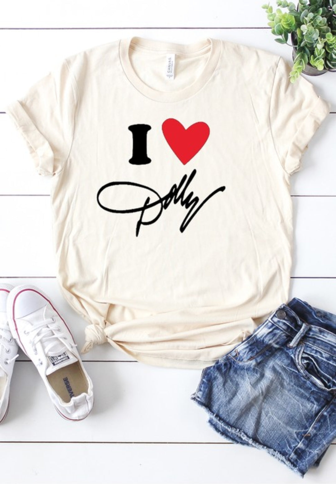 I LOVE DOLLY TEE