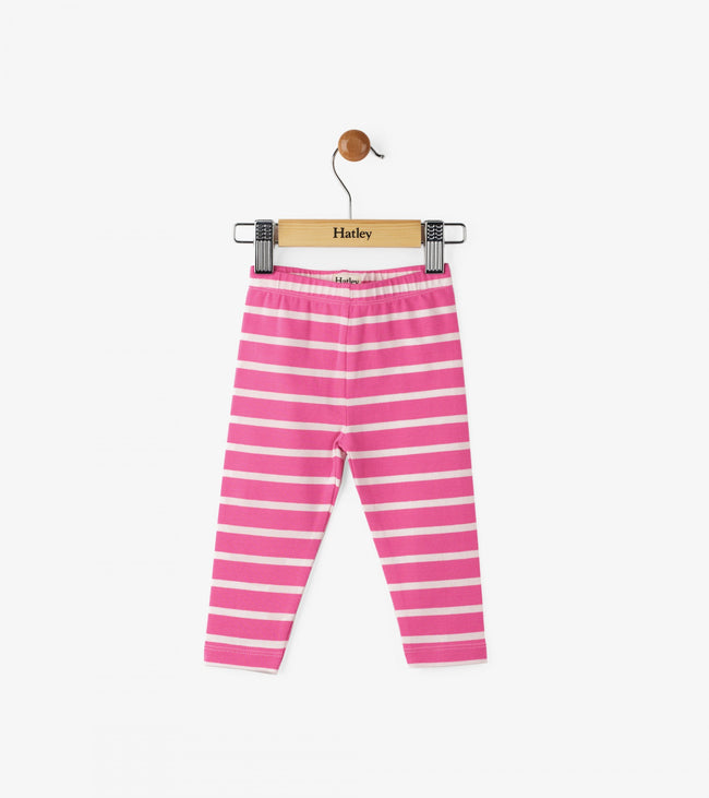 Candy Stripes Baby Leggings
