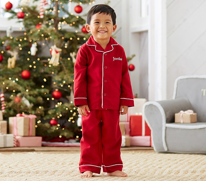 MONOGRAM CHRISTMAS PAJAMA SET