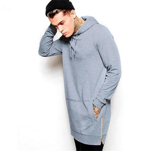 Long Fleece Sweatshirt - Calipstore