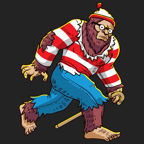 Bigfoot Waldo