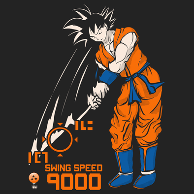 DBZ Golf (back print)