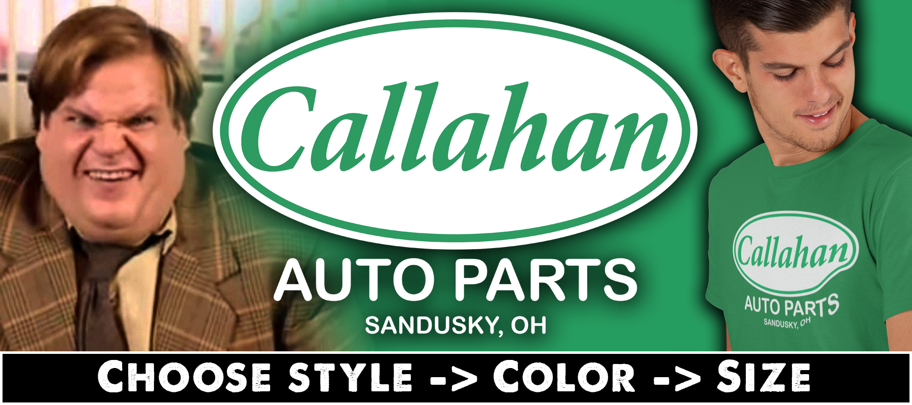 Callahan Auto T-shirts, Hoodies & Mugs