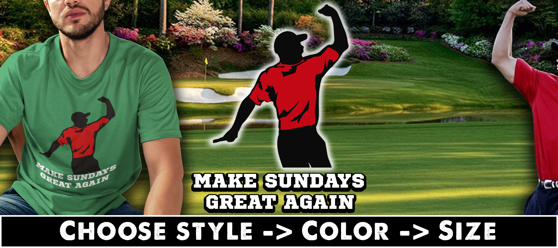 Make Sundays Great Again T-shirts, Hoodies & Mugs