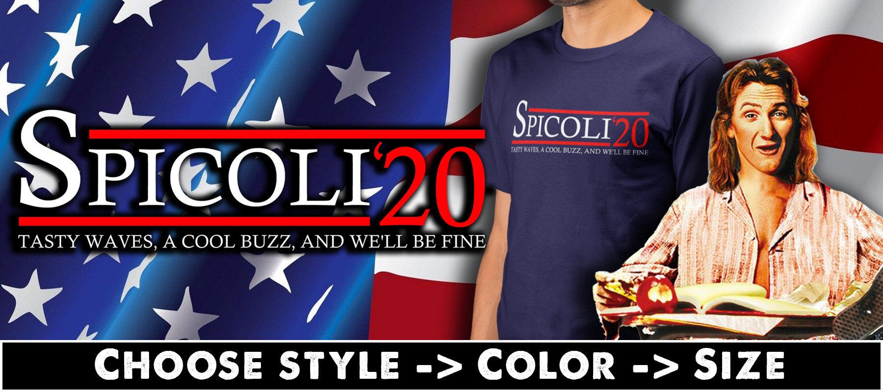 Spicoli 20 T-shirts, Hoodies & Mugs