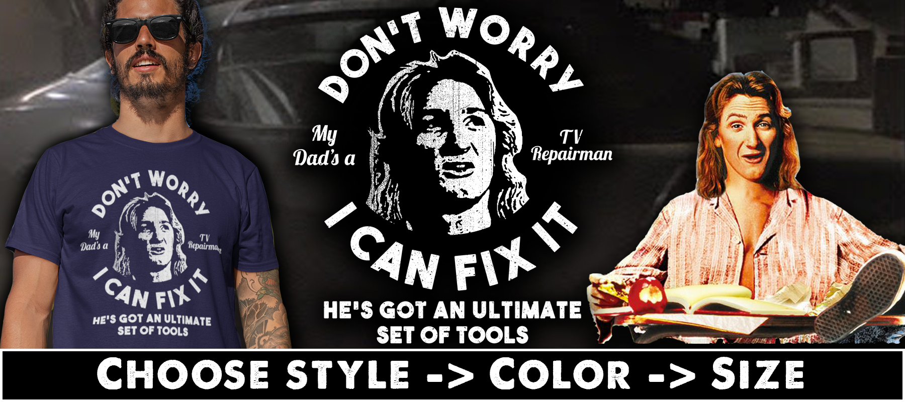 Spicoli Fix It T-shirts, Hoodies & Mugs