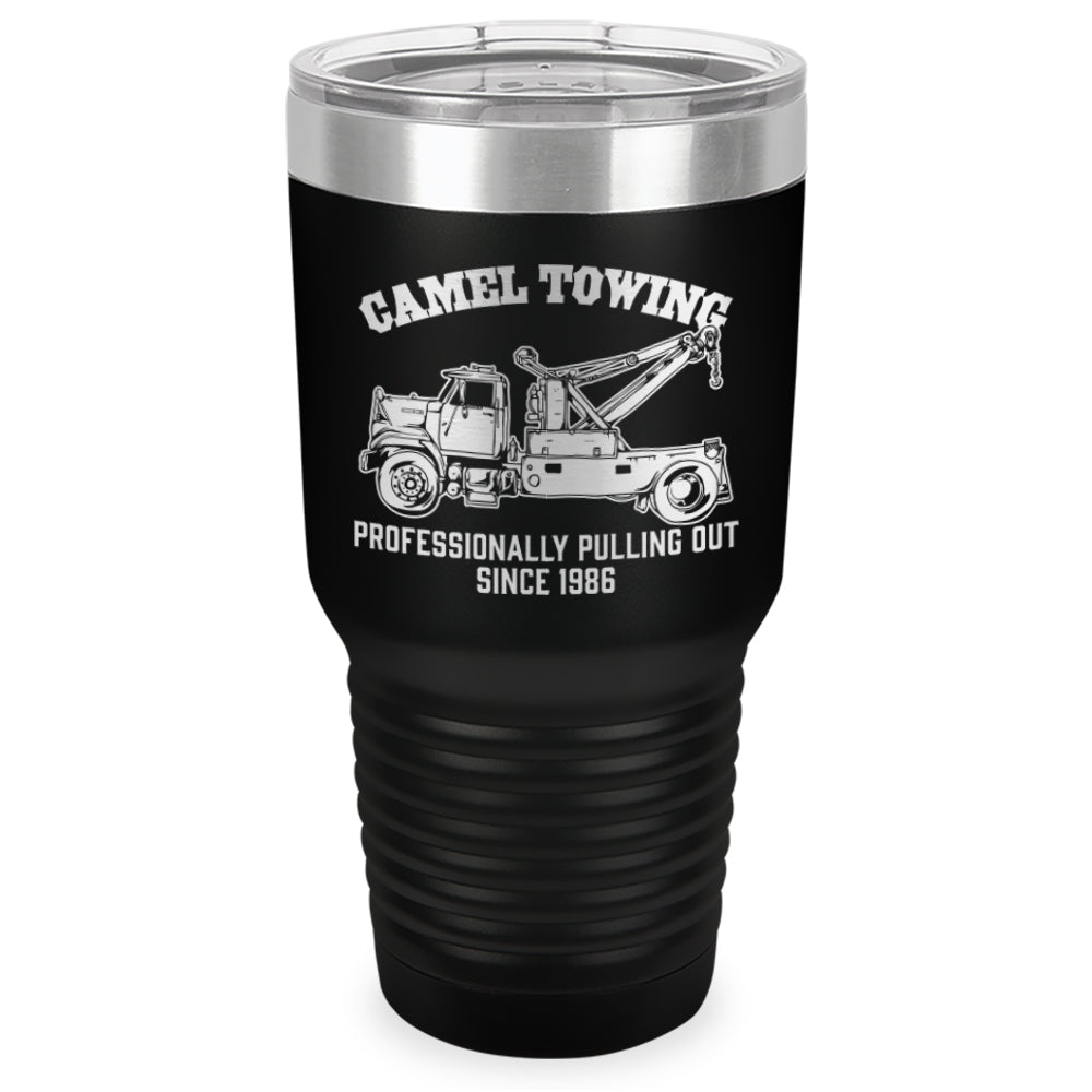Camel Towing Auto Laser Etched Tumbler