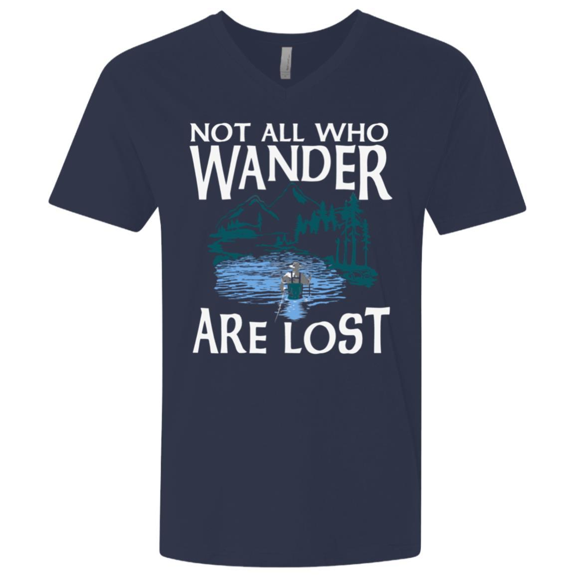 Fly Wander Premium V-Neck