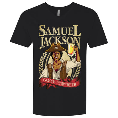 Sam Jackson Beer V-Neck