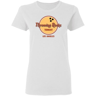 Throwing Rocks Ladies Tee