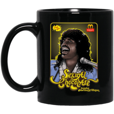 Sexual Chocolate Black Mug 11oz (2-sided)