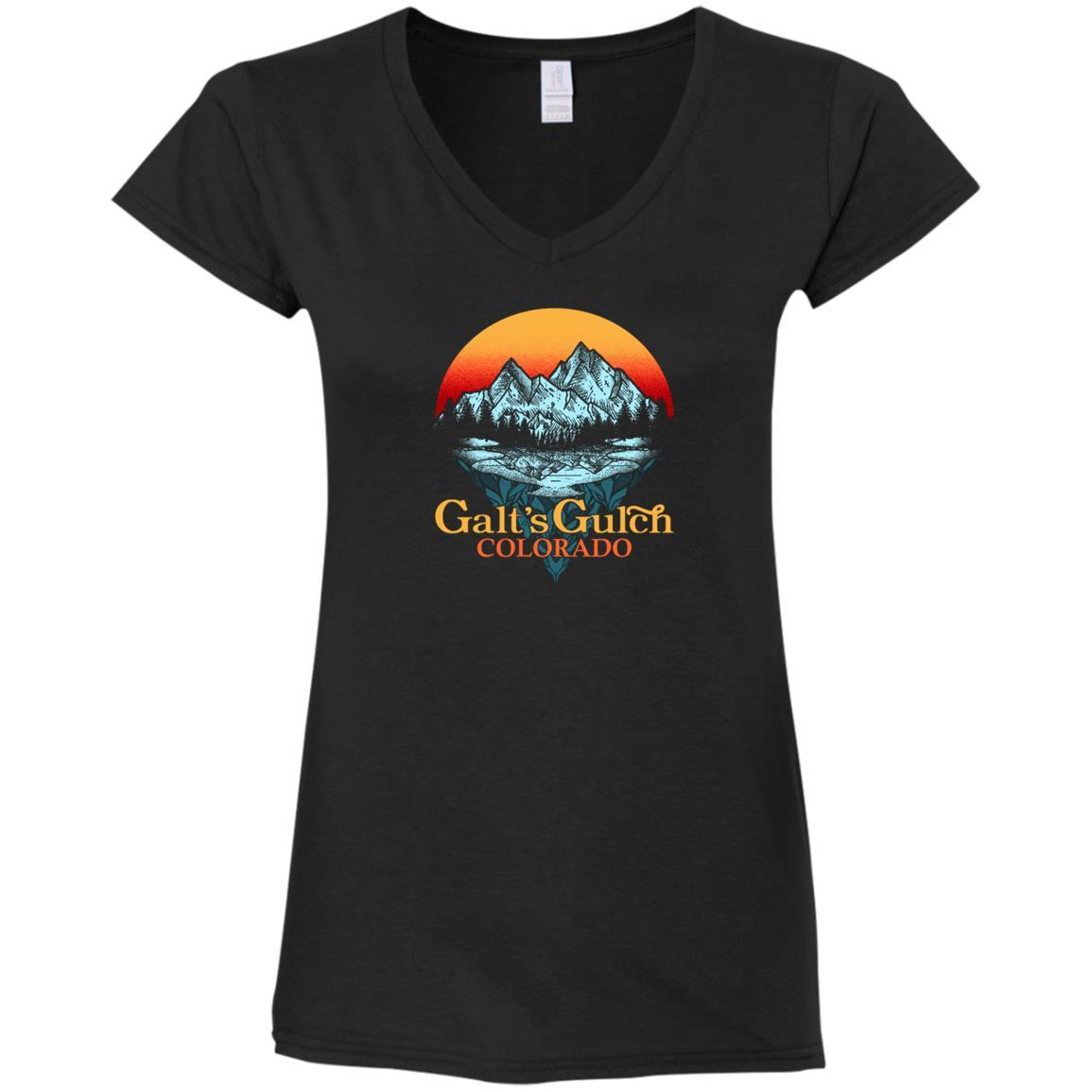 Galt's Gulch Ladies V-Neck