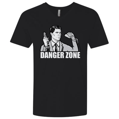 Danger Zone Light V-Neck 4.3oz