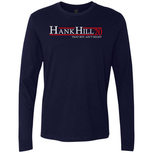 Hank Hill 20 Premium Long Sleeve