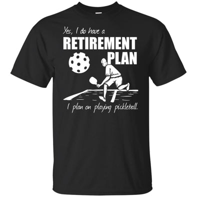 Pickleball Retirement Unisex Tee