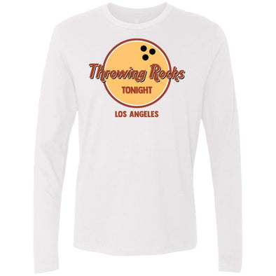 Throwing Rocks Premium Long Sleeve