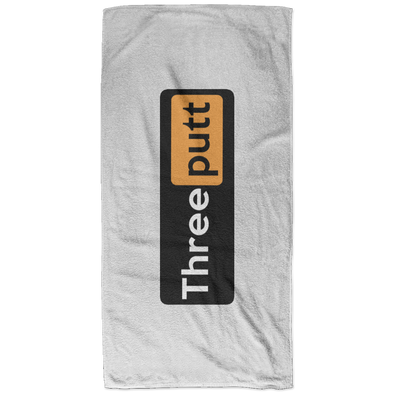 Three Putt Bath Towel