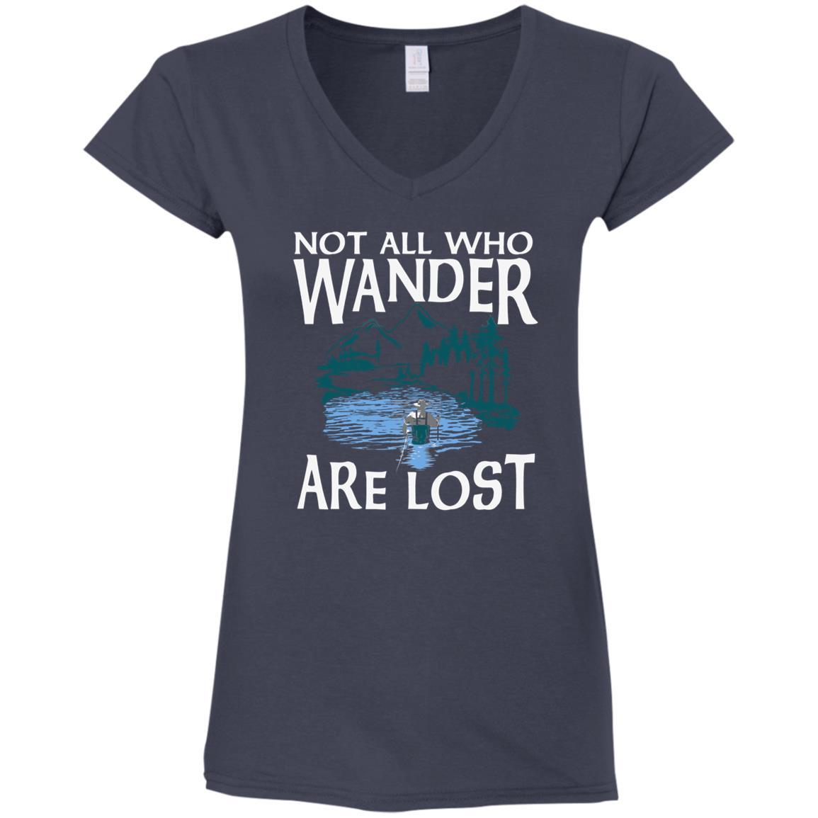 Fly Wander Ladies V-Neck