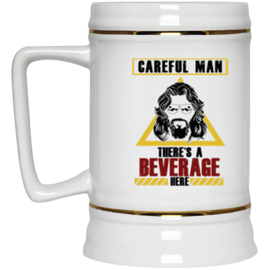 Beverage Here 2 Beer Stein 22oz