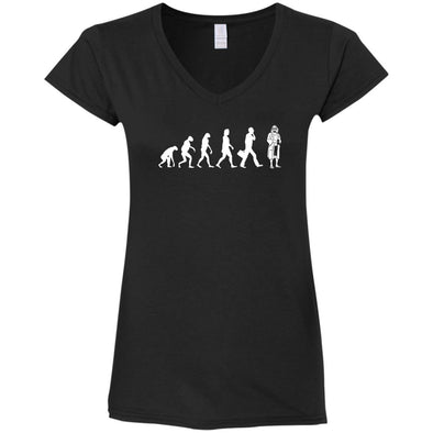 Lebowski Evolution Ladies V-Neck
